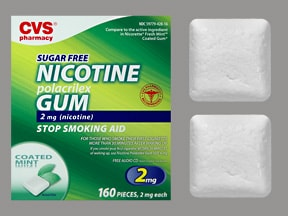 nicotine (polacrilex) 2 mg gum