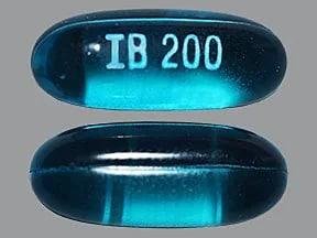 ibuprofen 200 mg capsule