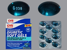 Diuretic Softgels 50 mg capsule