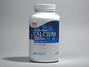 calcium carbonate 500 mg calcium (1,250 mg) tablet