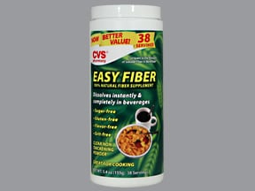 Easy Fiber 3 gram/3.5 gram oral powder