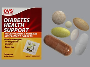 Diabetes Health Support 800 mcg oral pack