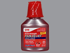 Pain Relief Adult 500 mg/15 mL oral liquid