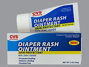 Diaper Rash 40 % topical ointment