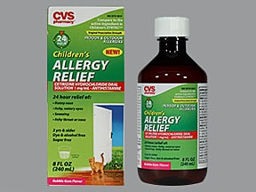 Children's Allergy Relief (cetirizine) 1 mg/mL oral solution