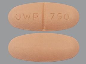 Roweepra 750 mg tablet
