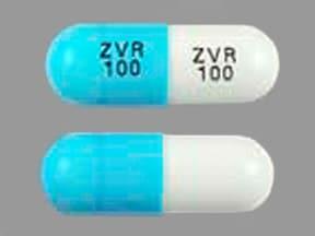 zidovudine 100 mg capsule