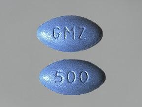 Glumetza 500 mg tablet,extended release