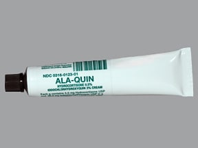 Ala-Quin 3 %-0.5 % topical cream