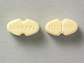 Levoxyl 100 mcg tablet