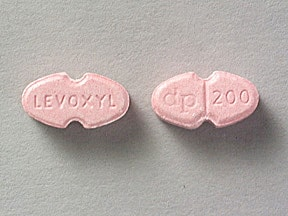 Levoxyl 200 mcg tablet