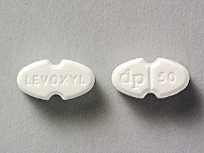 Levoxyl 50 mcg tablet