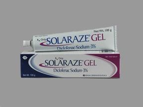 Solaraze 3 % topical gel