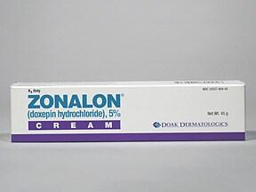Zonalon 5 % topical cream