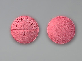 Coumadin 1 mg tablet
