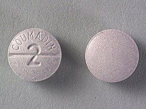 Coumadin 2 mg tablet