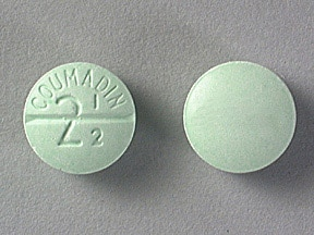 Coumadin 2.5 mg tablet