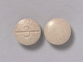 Coumadin 3 mg tablet
