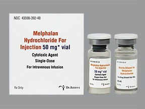 melphalan 50 mg intravenous solution