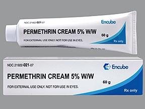 permethrin 5 % topical cream