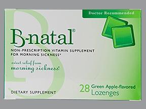 B-Natal 25 mg lozenges