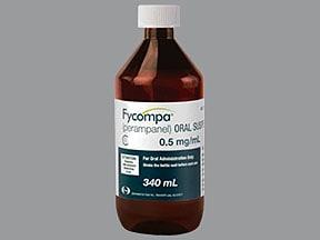 Fycompa 0.5 mg/mL oral suspension