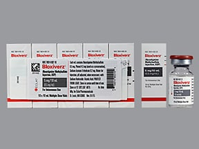 Bloxiverz 0.5 mg/mL intravenous solution