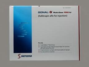 Gonal-F 1,050 unit subcutaneous solution