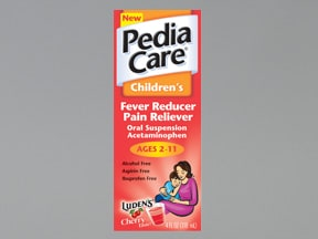 PediaCare Fever Reducer 160 mg/5 mL oral suspension