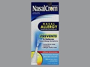 Nasalcrom 5.2 mg/spray (4 %) spray