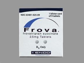 Frova 2.5 mg tablet