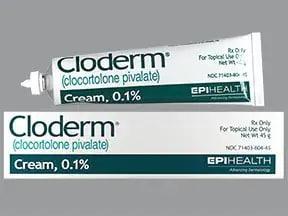 Cloderm 0.1 % topical cream