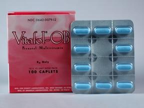 Vitafol-OB 65 mg-1 mg tablet