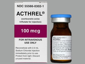 Acthrel 100 mcg intravenous solution