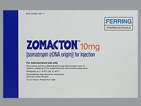 Zomacton 10 mg subcutaneous solution