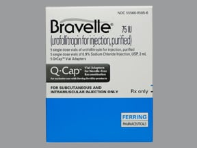 Bravelle 75 unit solution for injection