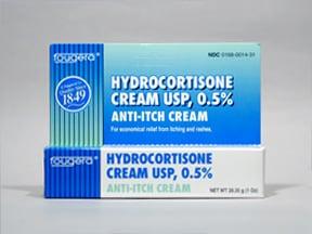 hydrocortisone 0.5 % topical cream
