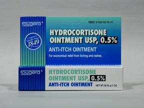 hydrocortisone 0.5 % topical ointment
