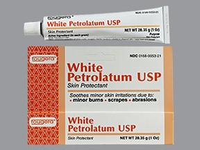 white petrolatum topical ointment