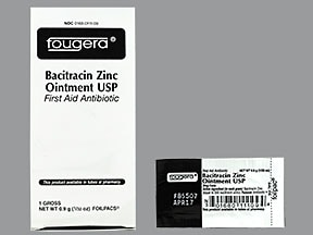 bacitracin zinc 500 unit/gram topical ointment in packet