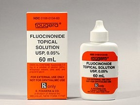 fluocinonide 0.05 % topical solution