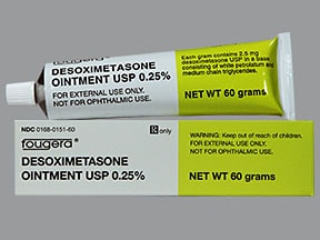 desoximetasone 0.25 % topical ointment