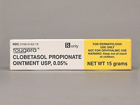 clobetasol propionate in ear