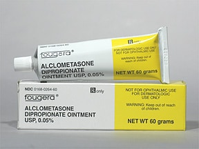 alclometasone 0.05 % topical ointment