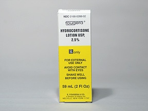 hydrocortisone 2.5 % lotion