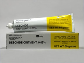 desonide 0.05 % topical ointment