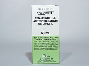 triamcinolone acetonide 0.025 % lotion
