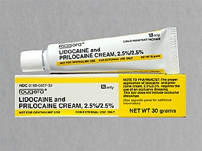 lidocaine-prilocaine 2.5 %-2.5 % topical cream
