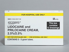 lidocaine-prilocaine 2.5 %-2.5 % topical kit