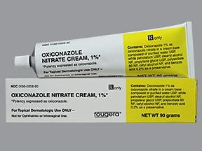oxiconazole 1 % topical cream